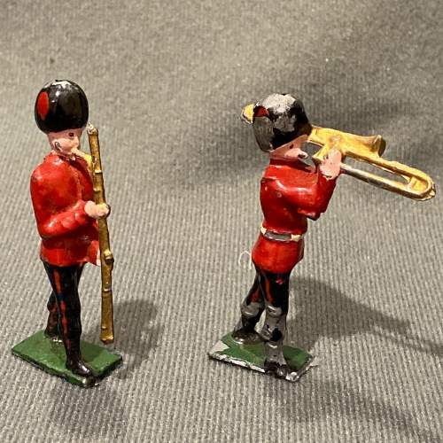 Pre War Britains Lead Soldiers of The Queens Guards image-4