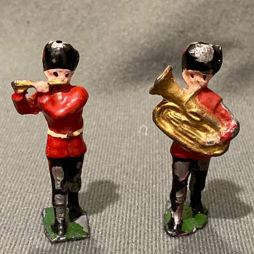 Pre War Britains Lead Soldiers of The Queens Guards image-5