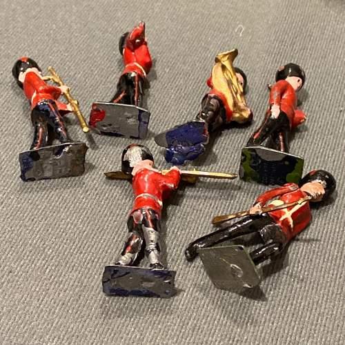Pre War Britains Lead Soldiers of The Queens Guards image-6