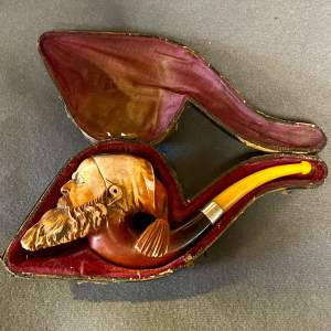 Fine 19th Century Figural Meerschaum Pipe