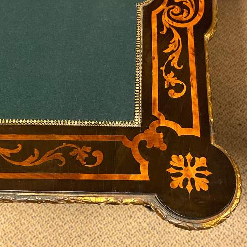 Louis XV Style 19th Century Foldover Card Table image-6