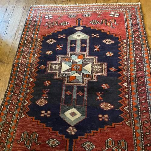 Old Hand Knotted Persian Bebehan Superb Design Village Piece image-1