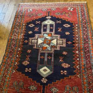 Old Hand Knotted Persian Bebehan Superb Design Village Piece