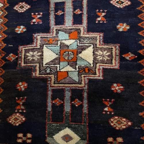 Old Hand Knotted Persian Bebehan Superb Design Village Piece image-2