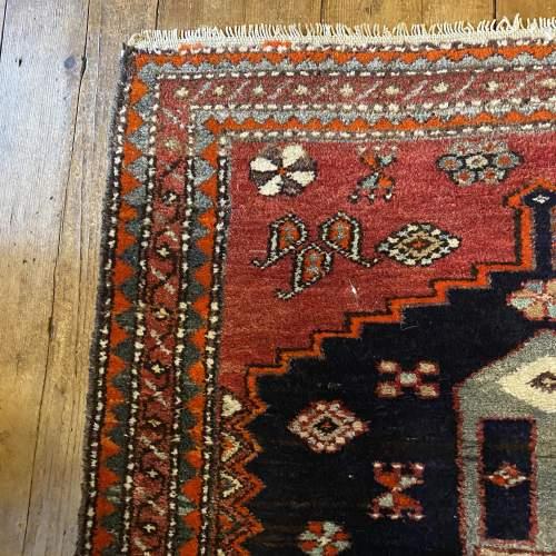 Old Hand Knotted Persian Bebehan Superb Design Village Piece image-3