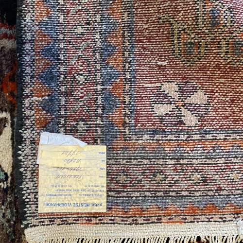 Old Hand Knotted Persian Bebehan Superb Design Village Piece image-4