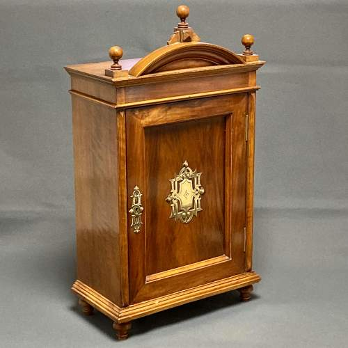 Late 19th Century Walnut Table Cabinet image-1