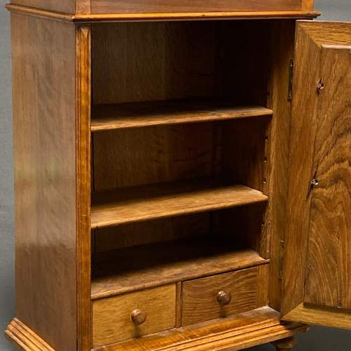 Late 19th Century Walnut Table Cabinet image-2
