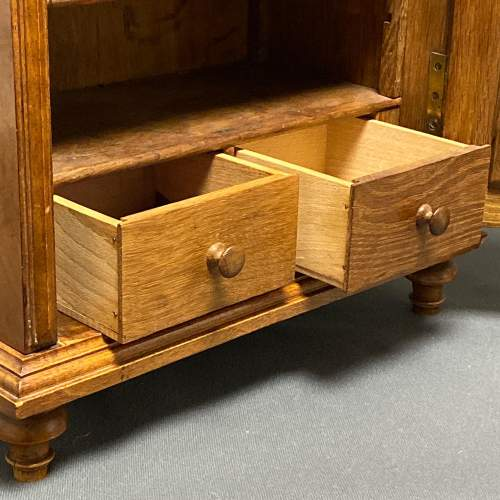 Late 19th Century Walnut Table Cabinet image-3
