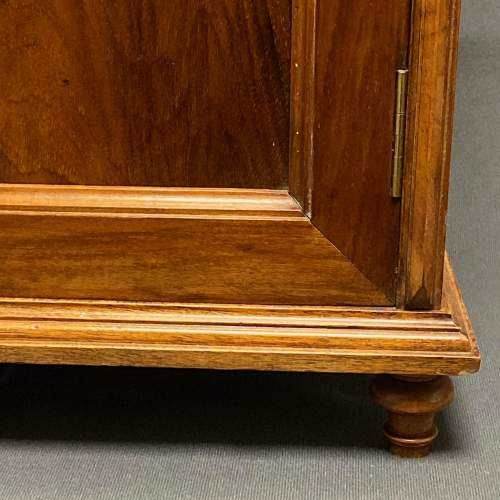 Late 19th Century Walnut Table Cabinet image-6