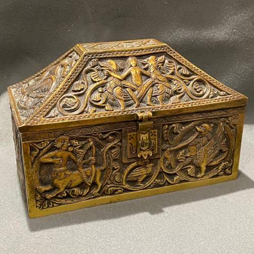 Celtic Bronze Casket image-1