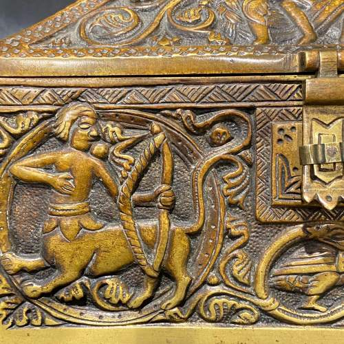 Celtic Bronze Casket image-4