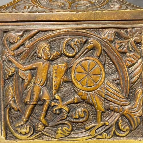 Celtic Bronze Casket image-5