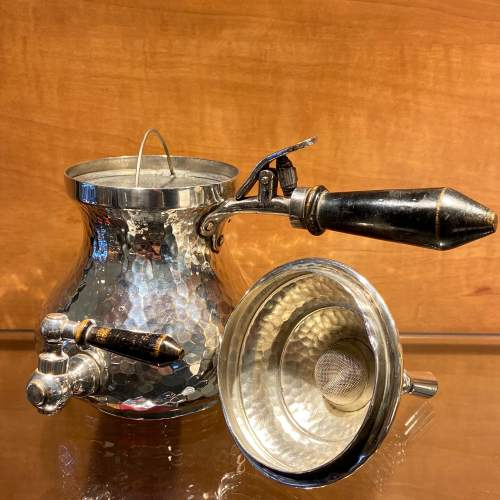 Quality Late 19th Century Silver Plated Coffee Pot image-3