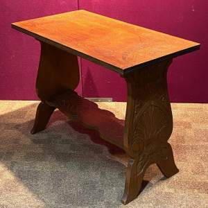 Arts and Crafts Oak Occasional Table