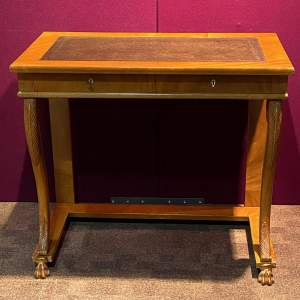 19th Century Continental Writing Table