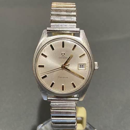 1970s Vintage Omega Gentlemans Stainless Steel Watch image-1