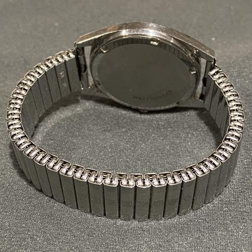 1970s Vintage Omega Gentlemans Stainless Steel Watch image-3