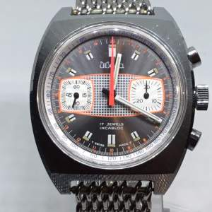 Very Rare Wega Chronograph Wristwatch