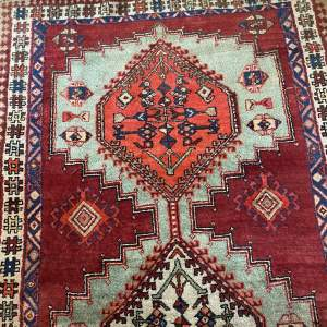 Old Hand Knotted Persian Rug Sarab Stunning Colours And Design