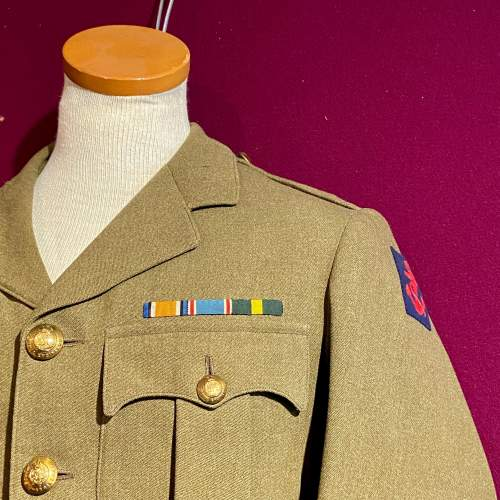 WWII Royal Engineers Officers Uniform image-4