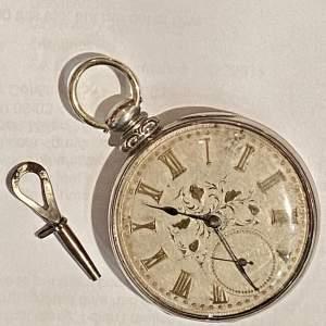 Swiss Nickel Pocket Watch