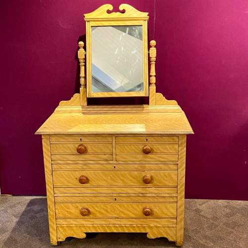 Victorian Scumbled Pine Dressing Table image-1