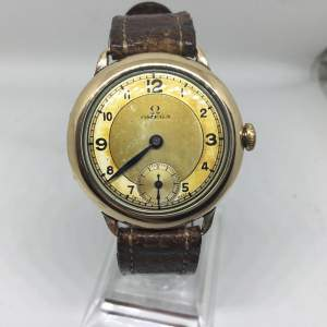 1938 Omega Trench Watch