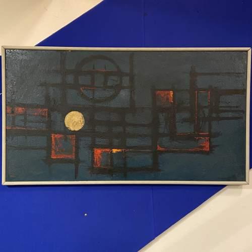 Antonin Bartl Abstract Oil on Board image-1