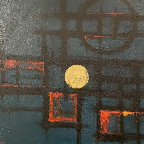 Antonin Bartl Abstract Oil on Board image-2