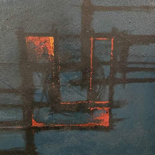 Antonin Bartl Abstract Oil on Board image-3