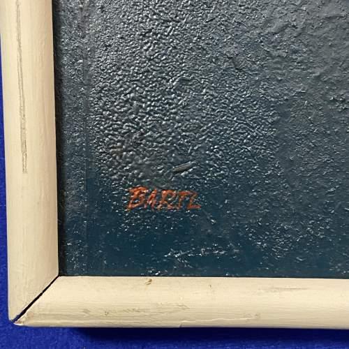 Antonin Bartl Abstract Oil on Board image-4