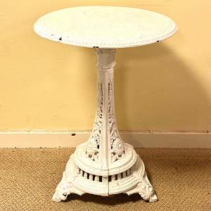 Coalbrookdale Victorian Cast Iron Garden Table