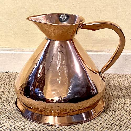 Quality Georgian Two Gallon Copper Jug image-1
