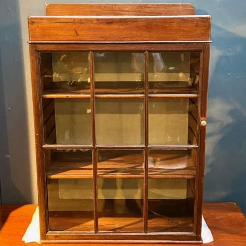 Victorian Six Glazed Panel Display Cabinet image-1