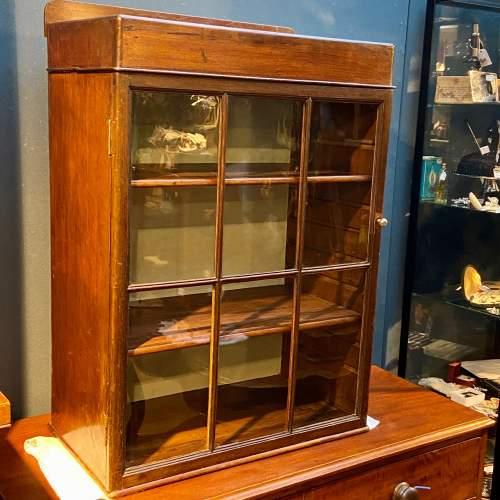 Victorian Six Glazed Panel Display Cabinet image-2