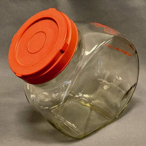 Meredith and Drewett Glass Crisps Shop Display Jar image-2
