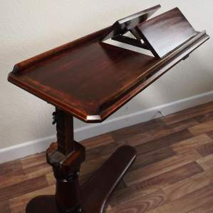 Victorian Rise Fall and Tilt Multi Reading Table by Alfred Carter