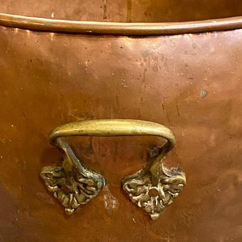 Victorian Copper and Brass Planter image-6