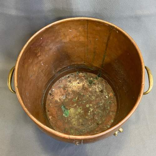Victorian Copper and Brass Planter image-3