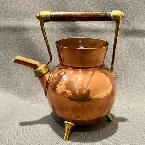 Arts and Crafts Benham and Froud Copper Kettle by Dr Christopher Dresser image-1