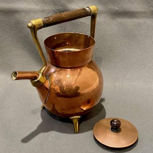 Arts and Crafts Benham and Froud Copper Kettle by Dr Christopher Dresser image-4