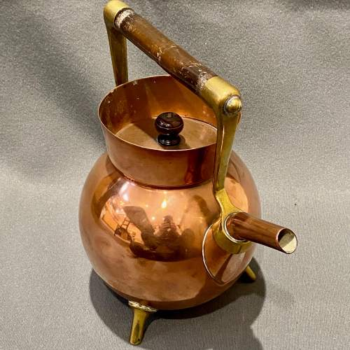 Arts and Crafts Benham and Froud Copper Kettle by Dr Christopher Dresser image-2
