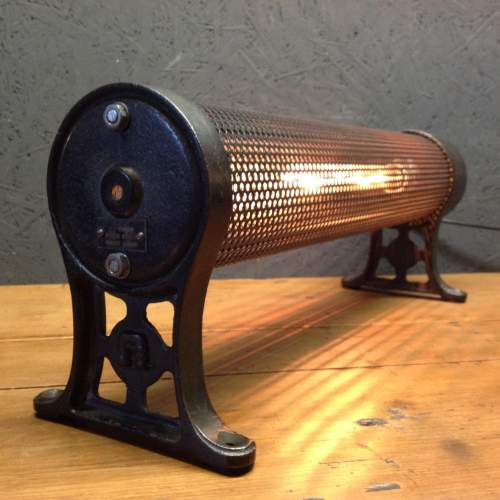 Early Heater by GEC Converted into Unique Lamp image-2