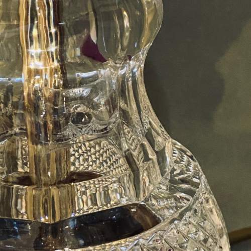 Impressive Pair of American Crystal Table Lamps image-6