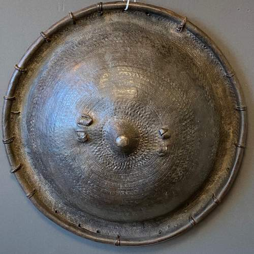 Early 19th Century Ethiopian Ceremonial Shield or Gatchena image-1