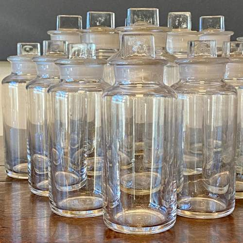 Set of 23 Glass Apothecary Bottles image-2