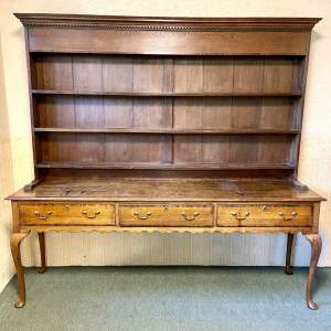 Late 18th Century Oak Dresser