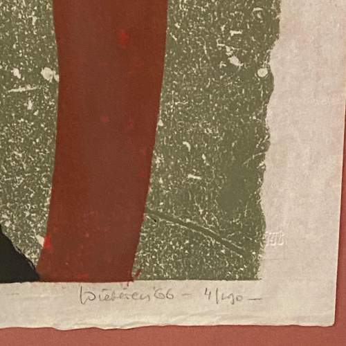 Jef Diederen Lithograph Abstract Composite Painting image-3