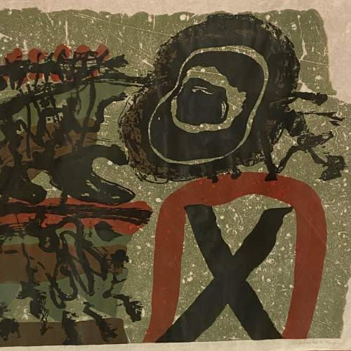 Jef Diederen Lithograph Abstract Composite Painting image-2